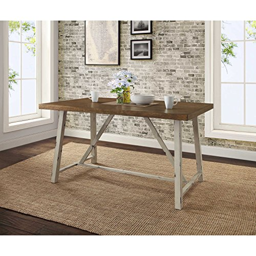 Target Marketing Systems Ian Collection 5 Piece Indoor: Modern Style Multi Step Sturdy Wood Tabletop