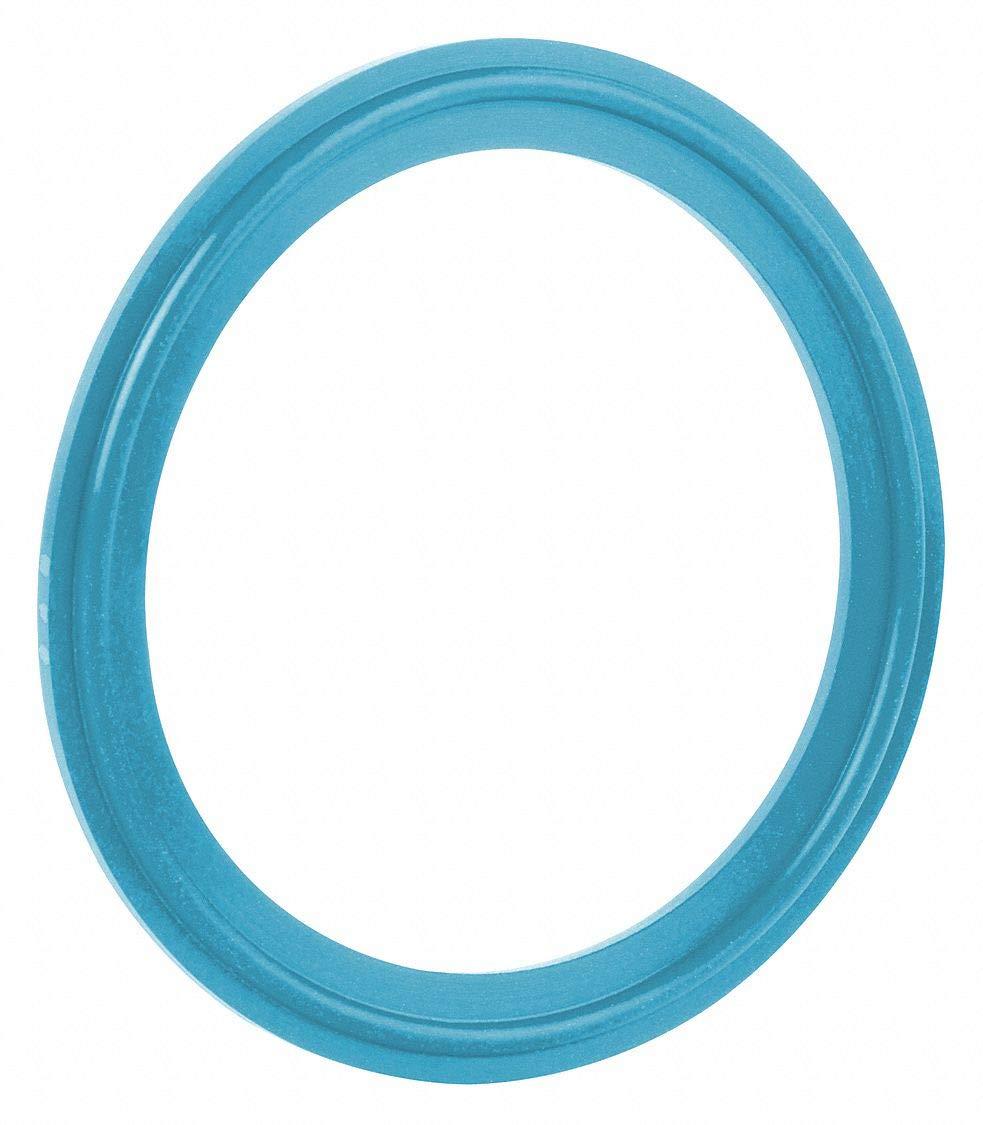 Tri-Clamp Sanitary Gasket, 2.878'' Inside Dia, 3.583'' Outside Dia, Buna X-Rayable/Metal Detectable,- Pack of 5