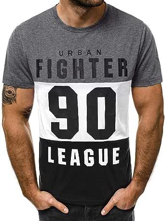 Camisetas Hombre Originales 2020 Nuevo SHOBDW Cómodo Cuello ...