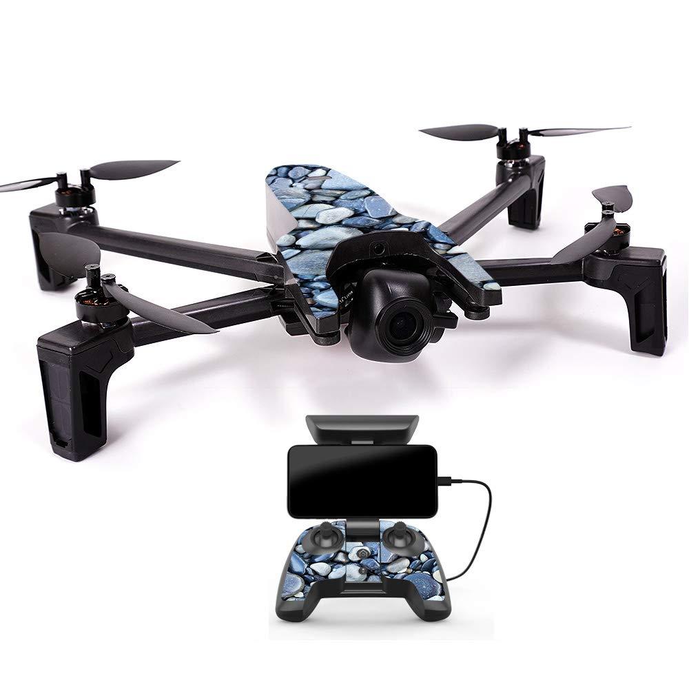 MightySkins スキンデカールラップ オウムステッカー保護カバー 100色展開, Minimal Drone & Controller Coverage, PAANAMIN-Ripped B07H7SGXDP Minimal Drone & Controller Coverage|Rocks Rocks Minimal Drone & Controller Coverage