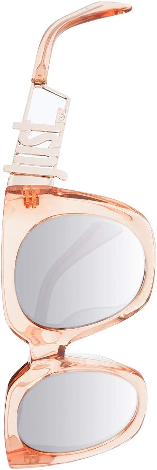 Pink Just Cavalli Unisex Adults' JC831S 72W 51 Sunglasses Rosa Luc//Blu Grad ,
