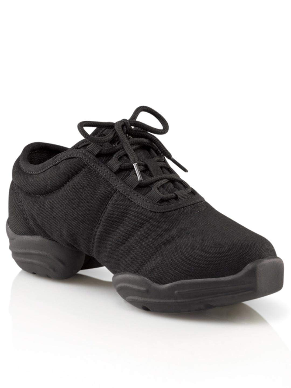 Capezio  Canvas Dance Sneaker,Black,13 M US by Capezio