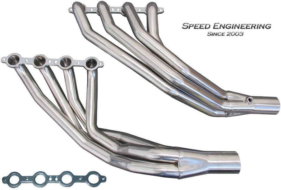 Speed Engineering C6 Corvette 1 7//8 Longtube Headers 2005-13 LS2, LS3, LS7 Engines