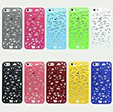 Liroayl Snap-on Case compatible with Apple iPhone 4 / 4S Bird Nest Rear Green
