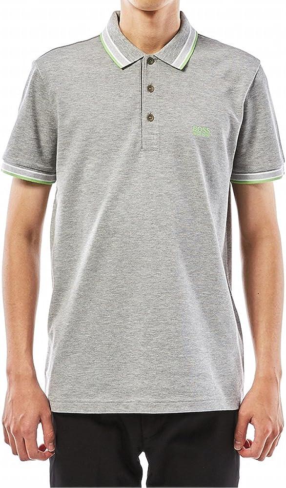XL Hugo Boss Mens Paddy Polo Shirt Regular Fit 50302557 058 Grey