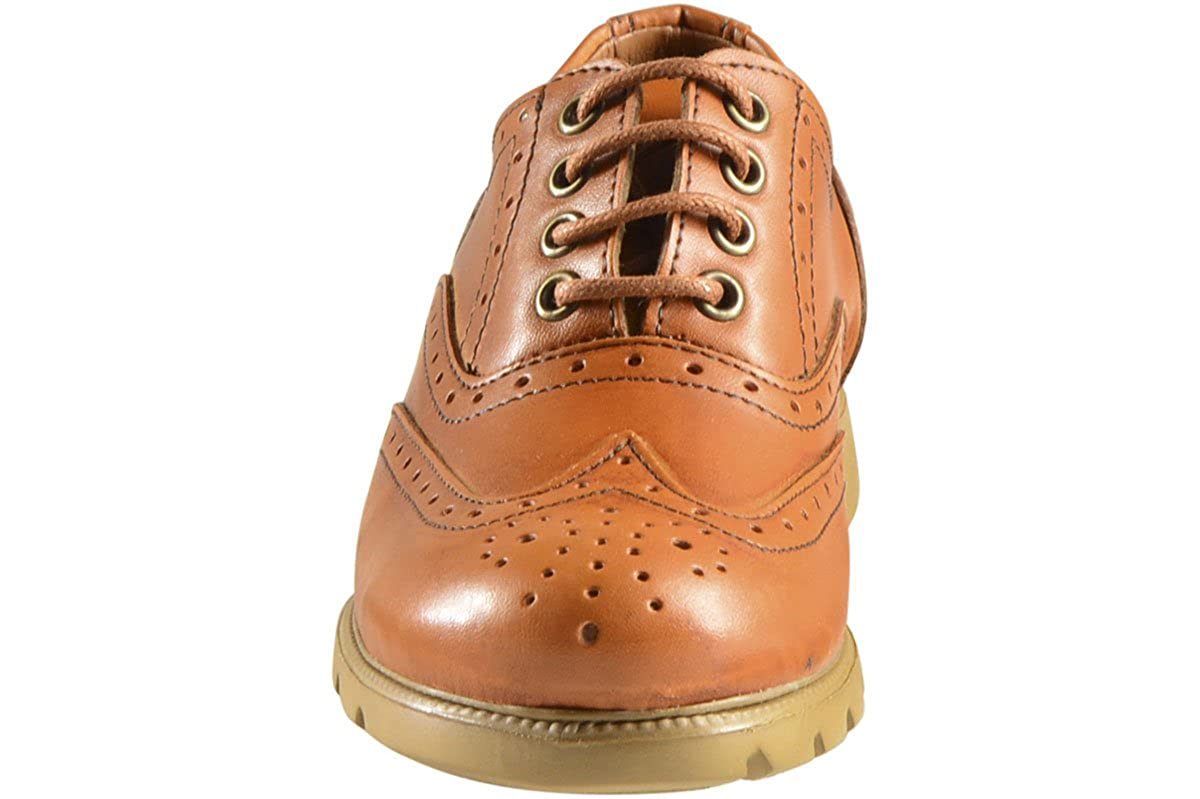 1 Vince Camuto Little Boys Warble Natural Wingtip Oxford Shoes Sz