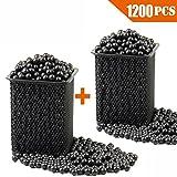 Slingshot Ammo Professional About 1200 PCS,7/20''(9mm) Hard Clay Ball, Environmentally Friendly.
