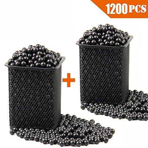 "Slingshot Ammo Professional About 1200 PCS,7/20""(9mm) Hard Clay Ball, Environmentally Friendly."