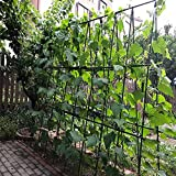 YIDIE Garden Stakes Sturdy Metal Fence Post 5 Ft