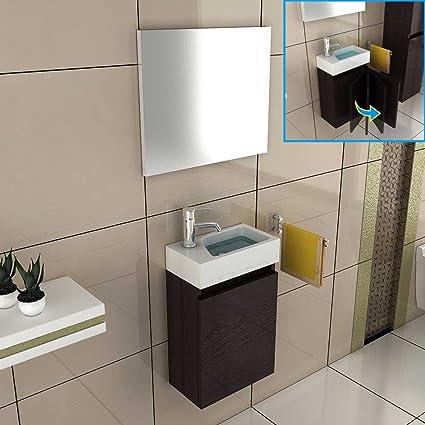 Mueble/mueble armario con espejo/lavabo con mueble de baño/diseño ...