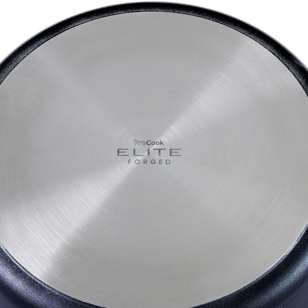 ProCook Elite forjado antiadherente cazuela inducción con tapa, 24cm / 3.6L: Amazon.es: Hogar