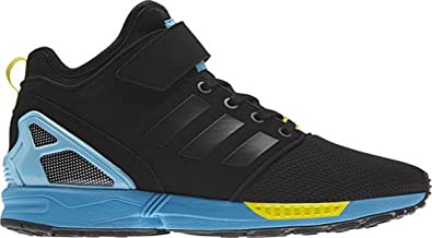 c34a4cd65 adidas ZX Flux NPS MID B34458 Core Black   Bright Yellow (UK11 US11 ...