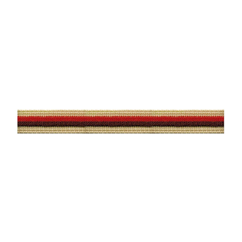 S.I.C. ストライプパイルテープ C/#10 サンドベージュ×ビターオレンジ×コーヒーブラウン 1反(30m) SIC-1202   B07LG2K3J5