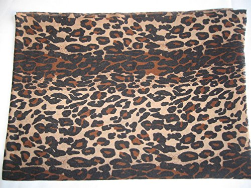 CASHMERE SHAWL -ANIMAL PRINT (CHOCOLATE LEOPARD) by Cashmere Pashmina Group