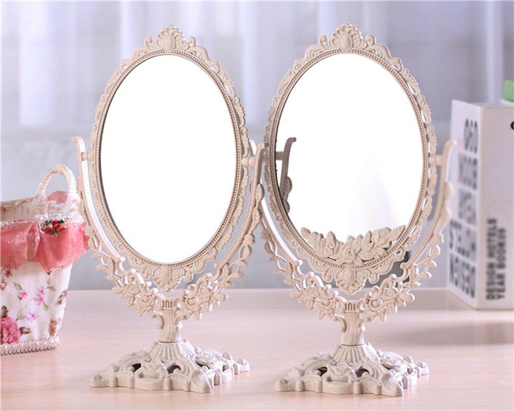 Spiegel Make Up : Csq retro spiegel make up doppelseitige kommode kreative spiegel
