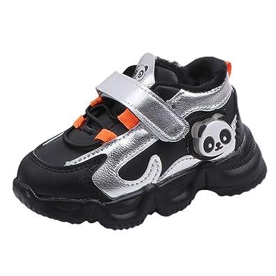 Zapatillas de Deporte de Invierno para ni/ños Calzado de Deporte Antideslizante c/álido para ni/ños