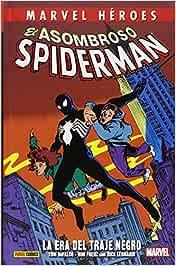 El Asombroso Spiderman. La Era Del Traje Negro MARVEL HEROES ...