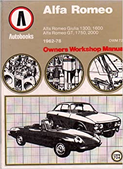 alfa romeo giulia 1300 1600 alfa romeo gt 1750 2000. Black Bedroom Furniture Sets. Home Design Ideas