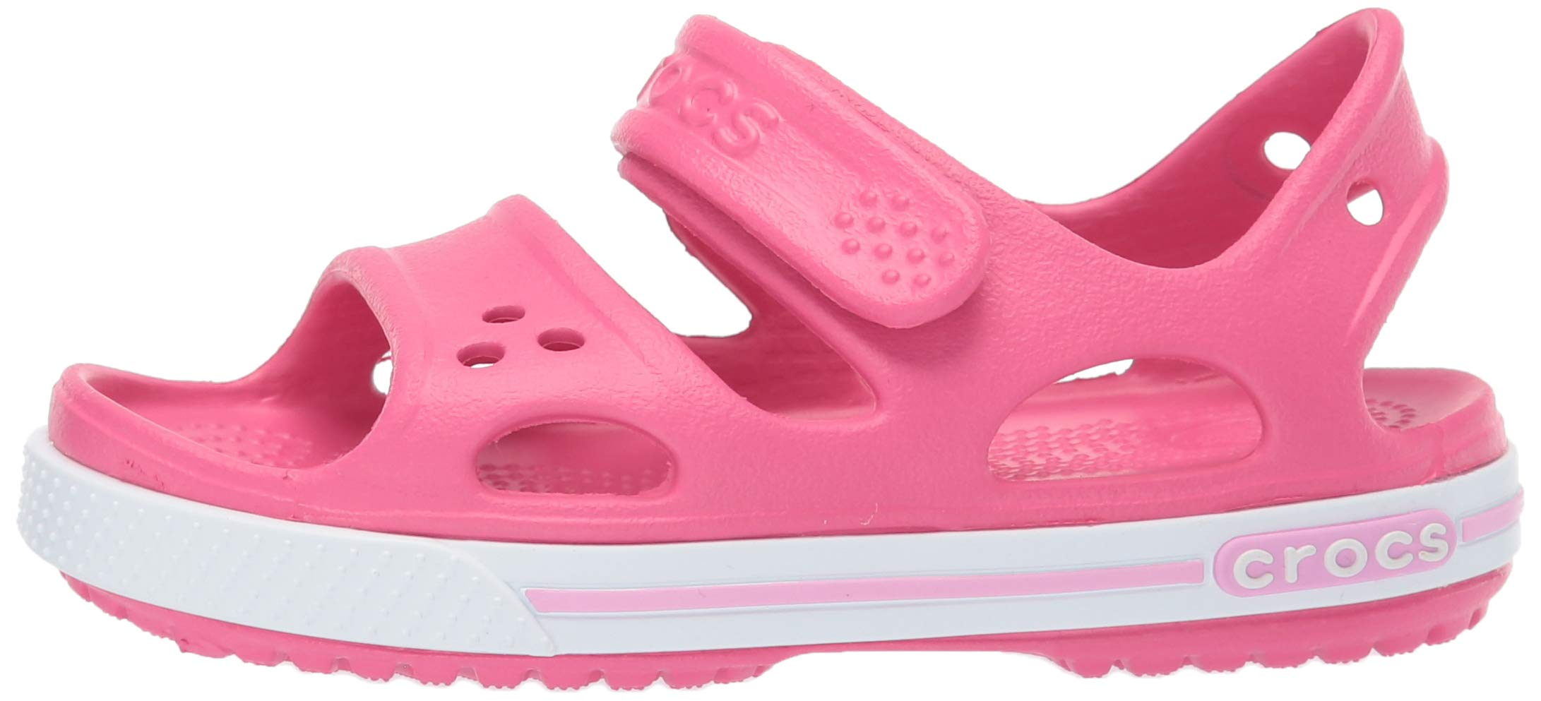 Crocs Kid's Boys and Girls Crocband II Sandal | Pre School, Paradise Pink/Carnation 6 M US Toddler by Crocs (Image #5)