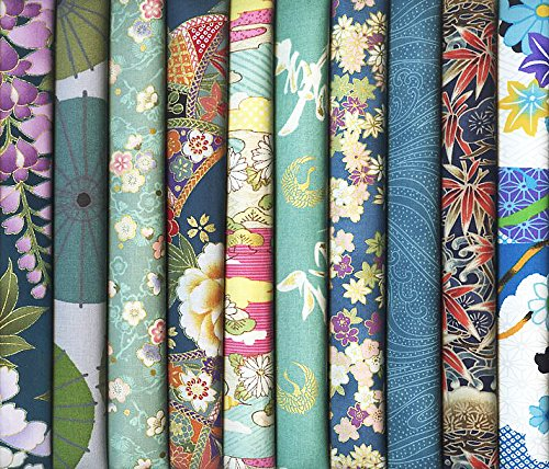 Quilt Fabric 3 Fat Quarters - 3