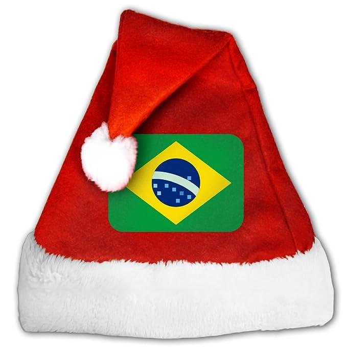 Brazil Christmas.Amazon Com Adults Kids Brazil Christmas Santa Hat Santa