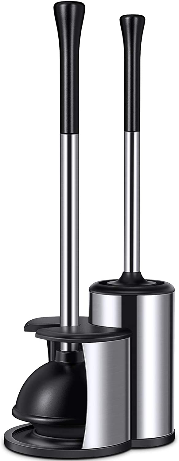 Homemaxs half Toilet Plunger and Brush 2021 2 1 in Minneapolis Mall P Newest