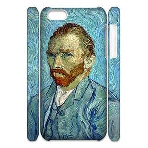 ANCASE Customized 3D case Van Gogh for iPhone 5C