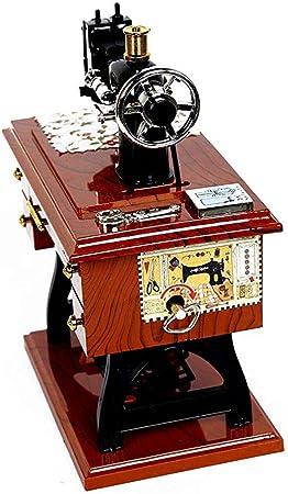 guoxuEE Caja de música Tablero Animada de la máquina de Coser ...