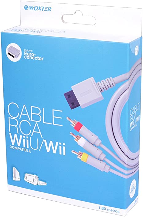 Blade - Cable RCA / Euroconector Woxter (Nintendo Wii, Nintendo Wii U): Amazon.es: Videojuegos