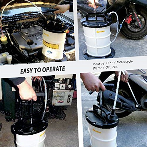 FIRSTINFO 6L Manual Operation Oil or Fluid Extractor by FIRSTINFO TOOLS FIT YOUR NEEDS (Image #3)