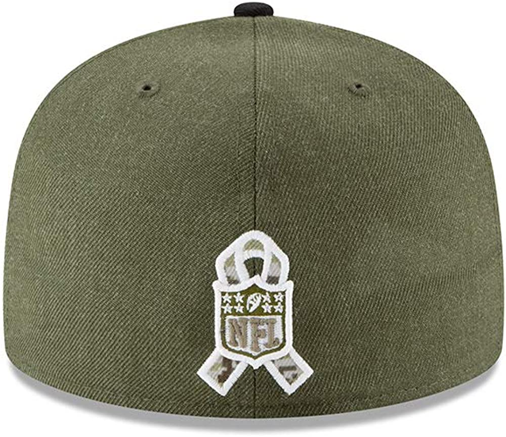 New Era Pittsburgh Steelers on Field 18 Salute to Service Cap 59fifty 5950 Fitted Limited Edition