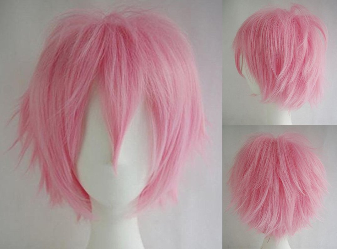 Anime Cosplay Synthetic Full Wig With Bangs 20 Styles