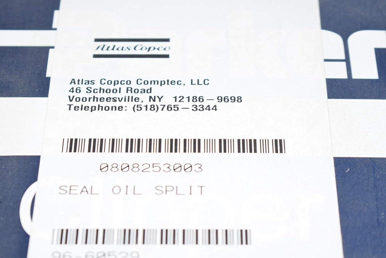 New Atlas Copco 0808-2530-03 Seal Oil Split Parker N15 0375 6765