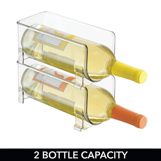 mDesign – Soporte para botellas de vino y otras bebidas ...