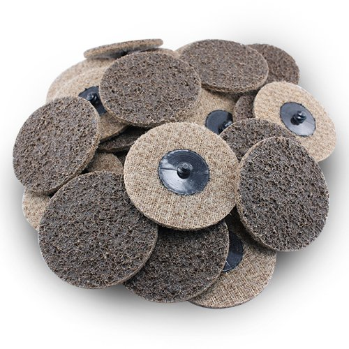 """3"""" Black Hawk Tan Surface Conditioning Quick Change Discs Coarse Prep Pad - 25 Pack 61gy6iCxSVL"""