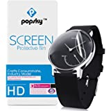 Withings Activite Steel Screen Protector [Explosion-proof Glass][2 Pieces], Popsky High Definition Ultra Thin Anti-Scratch Full Coverage Film for Withings Activite Steel Smart Watch