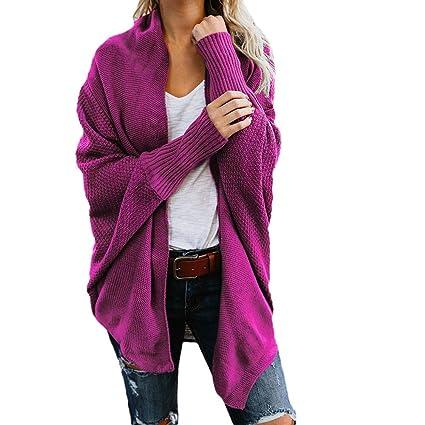 Amazoncom Easytoy Womens Cardigan Sweaters Winter Baggy Shawl