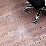 Sturdy Desk Chair Mat for Hardwood Floors Transparent Non Slip Premium Quality Floor Mat 36