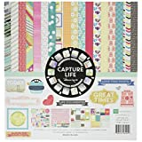 Echo Park Paper Company Captured Life Collection Kit for Scrapbooking