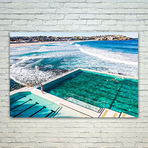 Westlake Art Poster Print Wall Art - Bondi Beach - Modern Picture Photography Home Decor Office Birthday Gift - Unframed - 24x36in