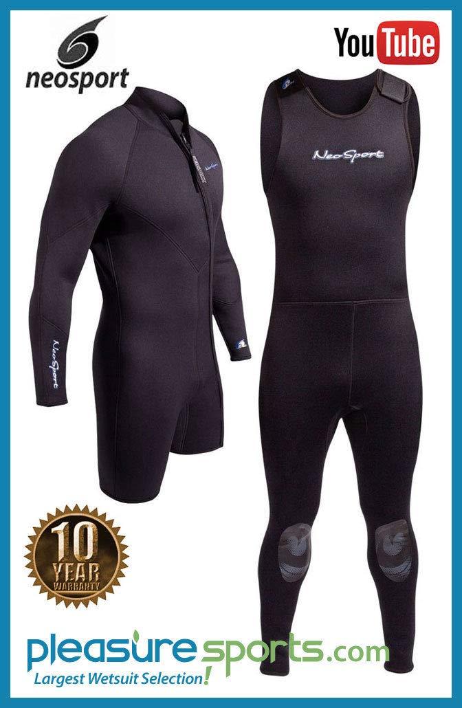 Henderson 3mm NeoSport Waterman Mens 2-Piece Wetsuit Combo-Long John /& Jacket