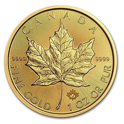 2017 CA Canada 1 oz Gold Maple Leaf Coin BU 1 OZ Brilliant Uncirculated