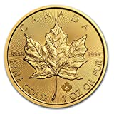 2017 CA Canada 1 oz Gold Maple Leaf Coin BU 1 OZ Brilliant Uncirculated