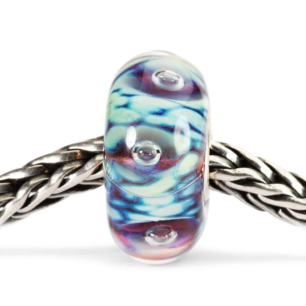 Trollbeads Glass Bead Moonlight Bubbles