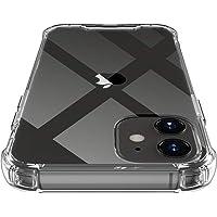 جراب Shamo's لهاتف iPhone 12 Mini، غطاء شفاف ممتص للصدمات مضاد للخدش، ماص للصدمات من مادة TPU مع زوايا معززة (لهاتف…