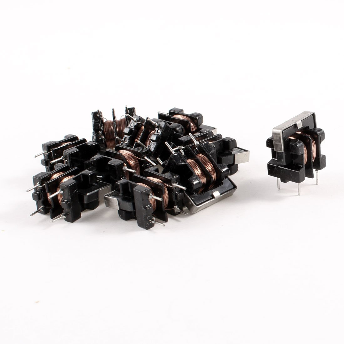 10 Pcs UF9.8 Common Mode Line Filter Inductor 25MH 0.4A Coil Sourcingmap a13071500ux0202