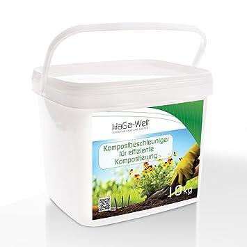 Compost acelerador compostador rápido Compostaje. Compost Compost ayuda 10 kg: Amazon.es: Jardín