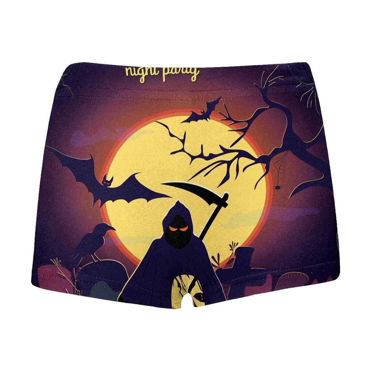 INTERESTPRINT Boys Halloween Witch Performance Boxer Briefs 5T-2XL