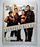 Seinfeld Rules! - The Cast of Seinfeld (George Costanza, Jerry Seinfeld, Elaine Benes & Cosmo Kramer) - Rolling Stone Magazine - #660-661 - July 8-22, 1993