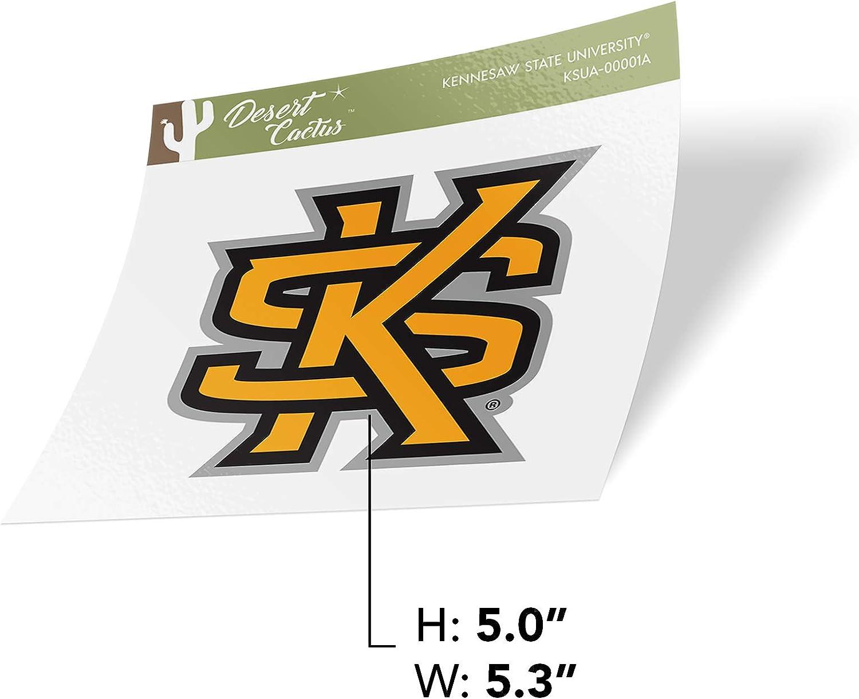 Sticker - 00001A Kennesaw State University KSU Owls NCAA Vinyl Decal Laptop Water Bottle Car Scrapbook